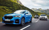 BMW X1 PHEV official press photos - hero front