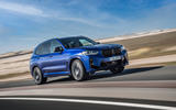 99 BMW X3 M 2021 LCI official images hero front