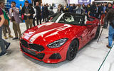 2019 BMW Z4 official reveal Pebble Beach - static front