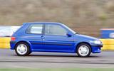 99 BTBWD August 13 Peugeot 106 gti