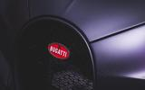 Bugatti logo on Chiron front bumper