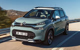 99 Citroen C3 Aircross MY2021 official images tracking front