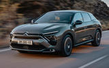 99 Citroen C5X official reveal images tracking front