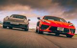 Corvette C8 vs Porsche 911 UK - lead
