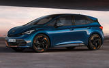 99 Cupra Born 2021 official reveal hero front