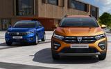 Dacia Sandero 2021 official images - lead
