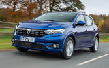 Dacia Sandero 2021 UK official images - front