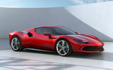 99 Ferrari 296 GTB 2021 official reveal hero front