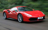 Ferrari 488 GTB rewind - tracking front
