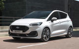 99 Ford Fiesta 2021 refresh ST Line tracking front