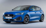 99 Ford Focus 2021 refresh official images ST Line front