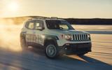 GKN Jeep Renegade eAWD prototype 2020 drive - hero front