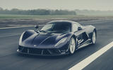 Hennessey Venom F5 official images - tracking front