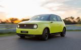 Honda e 2019 prototype drive - hero front