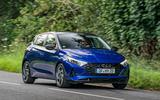Hyundai i20 2020 prototype drive - hero front