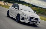 2021 Hyundai i20 N prototype drive - hero front