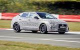 2021 Hyundai i30 Fastback N prototype drive - hero front