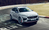99 Hyundai Kona N official images nring front