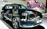 Hyundai Nexo cutaway