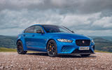 Jaguar XE SV Project 8 Touring 2019 UK first drive review - static front
