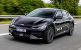 99 Kia EV6 prototype drive 2021 lead