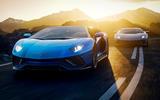 99 Lamborghini aventador ultimae official reveal pair