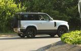 Land Rover Defender six-pot diesel - spy shot