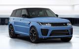 99 Land Rover Range Rover Sport SVR Ultimate official images lead