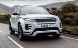 Land Rover Range Rover Evoque 2019 first ride review - hero front