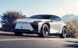 99 Lexus LF Z concept official images lead