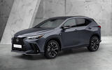 99 Lexus NX 450h+ 2021 official reveal front