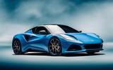 99 Lotus Emira 2021 reveal hero front