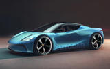 99 Lotus sports EV render imagined by Autocar