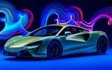 99 McLaren Artura 2021 Autocar images studio front edit