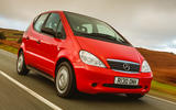 99 Mercedes A Class W168 used car buying guide hero front
