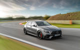 Mercedes-AMG A45 S 2019 official reveal - hero front