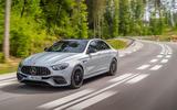 2020 Mercedes-AMG E63 facelift - saloon front
