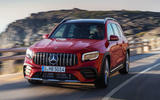 Mercedes-AMG GLB 35 2019 official press images - hero front