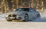 99 Mercedes AMG SL prototype official winter testing lead