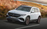 99 Mercedes Benz EQB 2021 official images tracking front