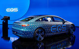 99 Mercedes Benz EQS disguised official images lead