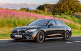 2021 Mercedes-Benz S-Class official reveal images - tracking front