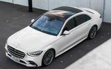Mercedes-Benz S-Class - overhead