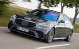 2020 Mercedes-Benz S-Class prototype ride - hero front