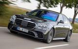 Mercedes-Benz S-Class prototype