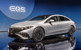 99 Mercedes EQS official reveal images hero