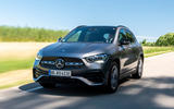 Mercedes-Benz GLA 250e 2020 prototype drive - hero front