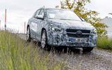 Mercedes-Benz GLA prototype ride 2019 - hero front