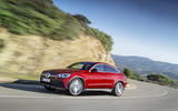 Mercedes GLC Coupe 2019 press - hero front