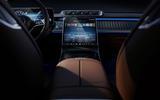 Mercedes-Benz S Class interior official images - main